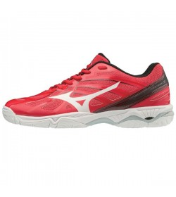 Zapatillas indoor rojo MIZUNO WAVE HURRICANE 3 - V1GA174062