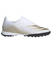 Botas de fútbol turf adulto ADIDAS X GHOSTED.3 TF - EG8199