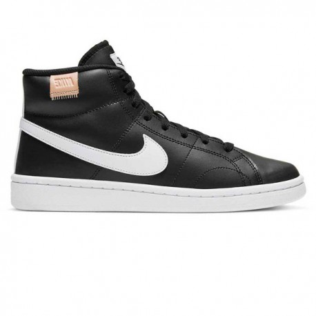 Zapatillas de botín negras NIKE COURT ROYALE 2 MID - CT1725 001