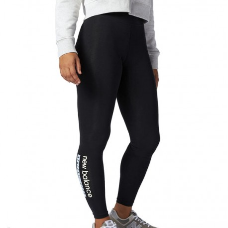 Leggins para mujer en negro NEW BALANCE ESSENTIALS GRX TIGHT - WP11508